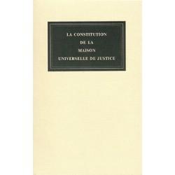 Constitution de la Maison Universelle de Justice