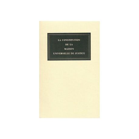Divers Constitution de la Maison Universelle de Justice