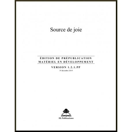 Ruhi - Préjeunes - Source de joie