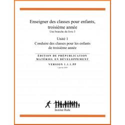 Ruhi - Livre 3 - Troisième année - Enseigner des classes d'enfants