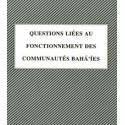 Questions liées au fonctionnement des communautés ? compilation