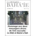 La pensée bahá'ie n°171/172 : Hommage aux deux messagers divins de l'ère nouvelle : Le Báb & Bahá'u'lláh