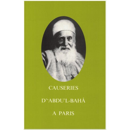 Causeries d' 'Abdu'l-Bahá à Paris, broché