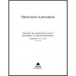 Ruhi - Pré-jeune - Observation & Perception