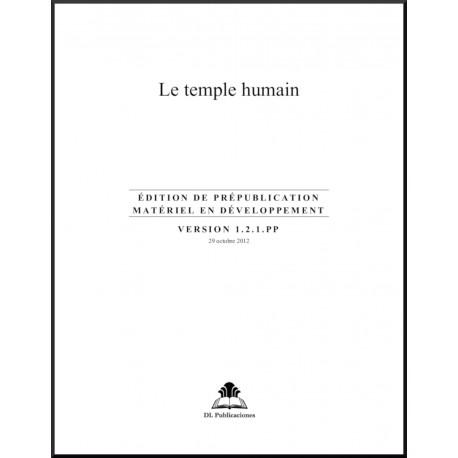 Ruhi - Préjeunes -  Le Temple humain