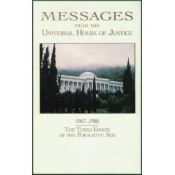 Messages  de la Maison universelle de Justice de 1963 à 1986 en anglais