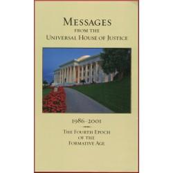 Messages de la Maison universelle de Justice de 1986 à 2001 en anglais