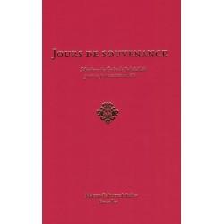 Jours de souvenance , sélections des écrits de Bahá'u'lláh pour les jours saints bahá'is