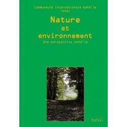 Communauté internationale bahá'íe Nature et environnement - déclaration de la Communauté internationale bahá'íe