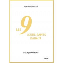MEHRABI Jacqueline Neuf jours saints bahá'ís