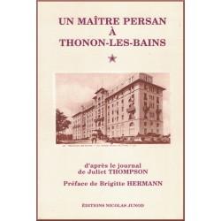 HOPSON J. Maître persan à Thonon les Bains