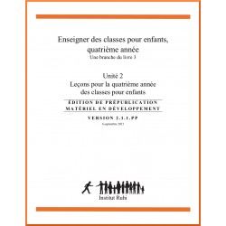 Ruhi - Livre 3 - Quatrième année - Enseigner des classes d'enfants