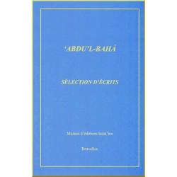 `Abdu'l-Bahá,  Sélection...