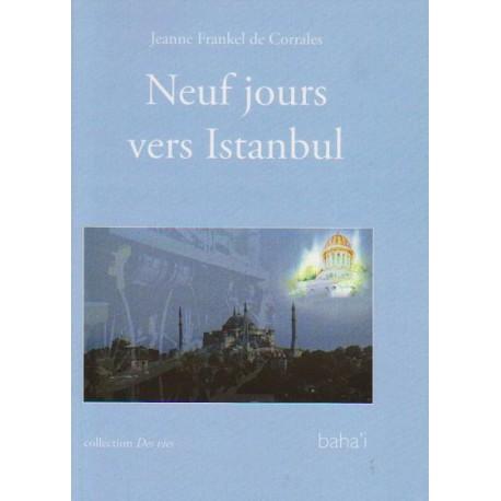 Jeanne Frankel de Corrales 9 jours vers Istanboul