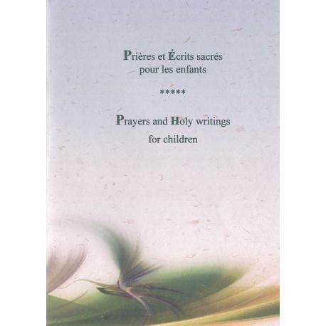 Prières et Écrits sacrés pour les enfants