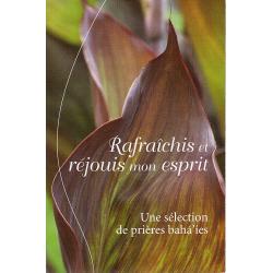 Dépliant Prières - Rafraîchis et réjouis mon esprit