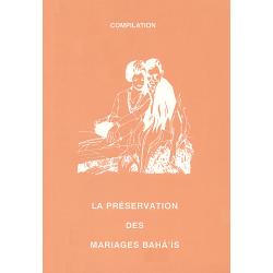 MUJ Préservation des mariages bahá'ís - compilation