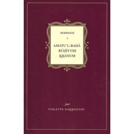 Violette Nakhjavani Hommage à Amatu'l-Bahá - baisse de prix