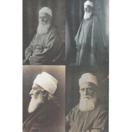 Photo Abdu'l-Bahá grand format X4