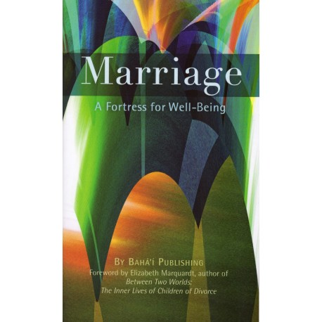 Marriage, a fortress for well-being