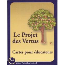 Le Projet des Vertus , Cartes pour éducateurs