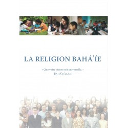 Lot de 5 brochures 'La religion Bahá'ie' 2017