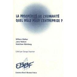 Wiliam Walker - Jane Nelson - Matthew Weinberg Prospérité de l'humanité