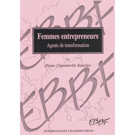 STARCHER D. C. Femmes entrepreneurs - Agents transformation