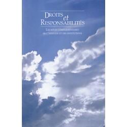 Droits et responsabilités - compilation