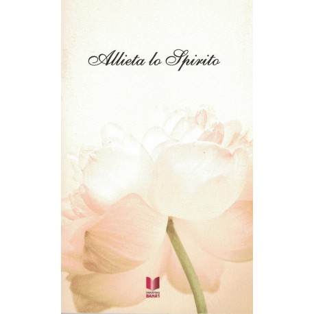 Allieta lo spirito , livre de prières en italien
