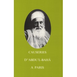 Causeries de 'Abdu'l-Bahá à Paris