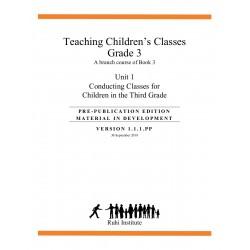 Ruhi - Livre 3 - Troisième année - ANGLAIS -Enseigner des classes d'enfants