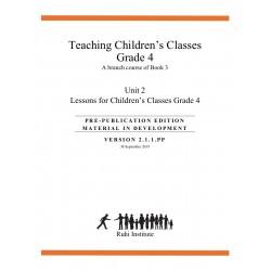 Ruhi - Livre 3 - Quatrième année - ANGLAIS- Enseigner des classes d'enfants